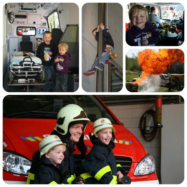 Brandweer Collage